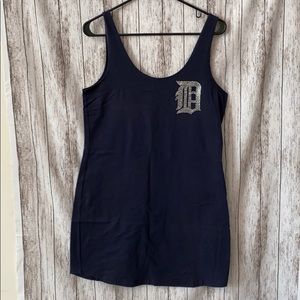 Detroit tigers bodycon PINK dress